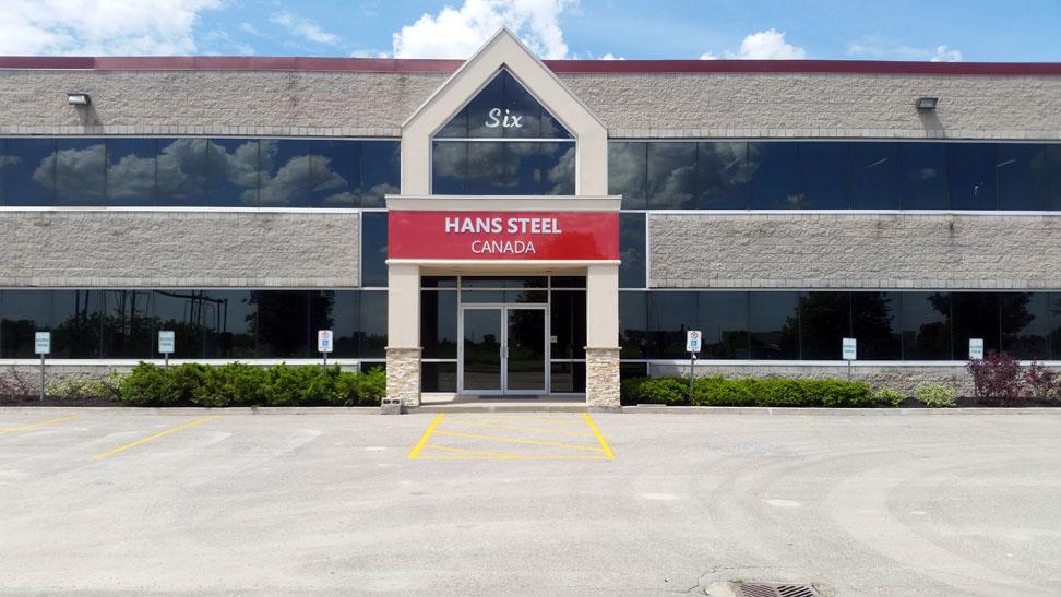 Hans Steel Canada, Stouffville, ON
